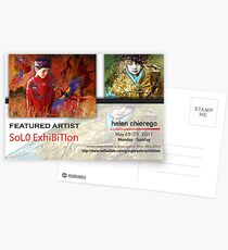 Helen Chierego, Solo Exhibition Banner Postcards