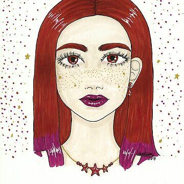 star freckles by Hardsara