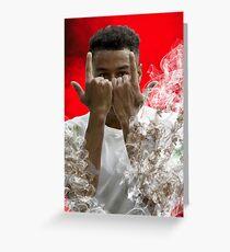 Jesse Lingard Vollständige Kunst Grußkarte