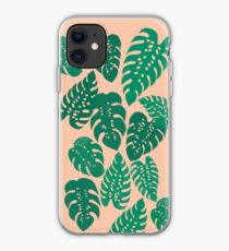 Cheese Plant - Trendy Hipster art for dorm decor, home decor, ferns, foliage, plants iPhone Case
