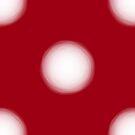 Absurdo Dots Vermelho by kubolab