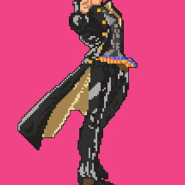 Pixel Jotaro Kujo by DigitalCleo