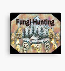 Fungi Hunting Canvas Print