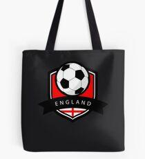 Soccer flag England Tote Bag