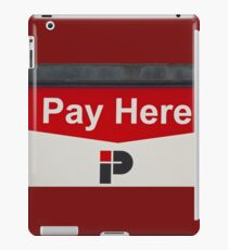 Pay Here   -   A World of Words iPad Case/Skin