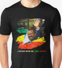 Ethiopia DR. Abiy Ahmed Unisex T-Shirt