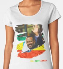Camiseta premium para mujer Etiopía DR. Abiy Ahmed