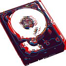 hard drive by lain-zine