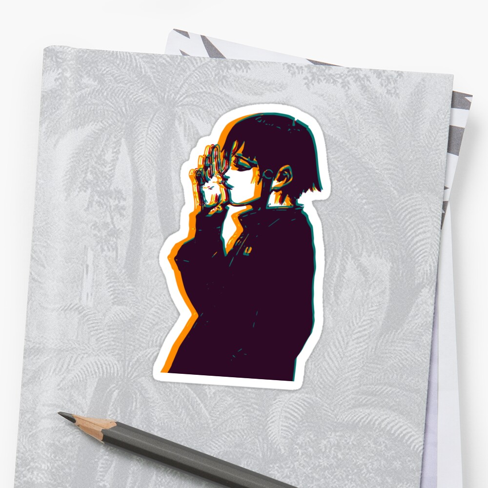 Serial Experiment Lain Sticker