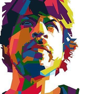 Shahrukh Khan Art Stuff by bollywood-tees
