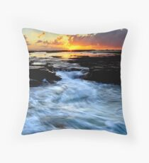 Little Austi Sunrise Throw Pillow