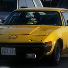 My Pride and Joy...  a 1977 TR7.. by Larry Llewellyn