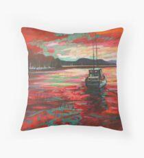 Bellanoch Boats Throw Pillow