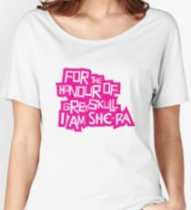 For the Honour of Greyskull Women's Relaxed Fit T-Shirt