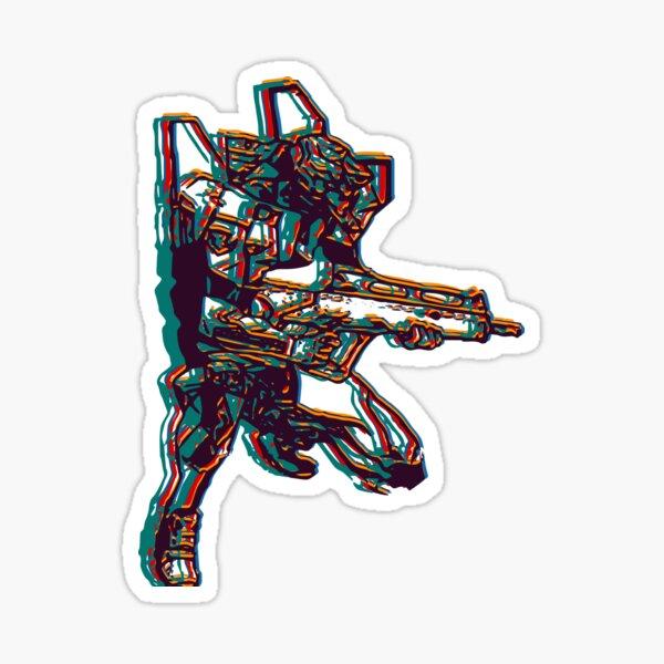 Evangelion Unit-02 Sticker