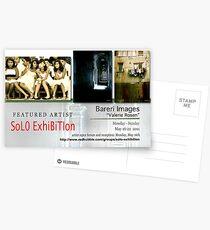 Bareri Images, Valerie Rosen, Solo Exhibition Banner Postcards