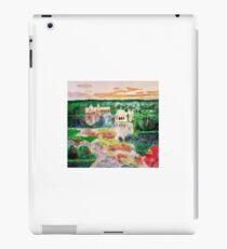 Landscape fantasy painting acrylic iPad Case/Skin