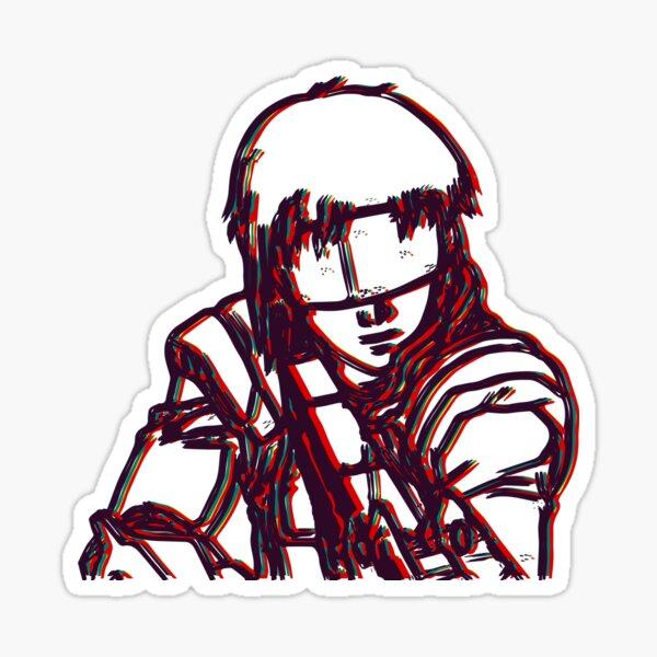 Kusanagi-Ghost In The Shell Sticker