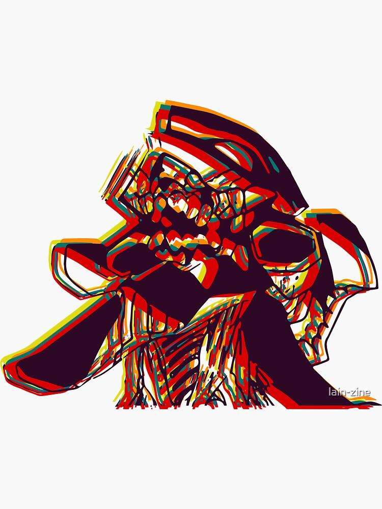 Evangelion Unit-01 Beserk by lain-zine