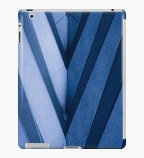 Abstract Architecture in Blue II iPad Case/Skin