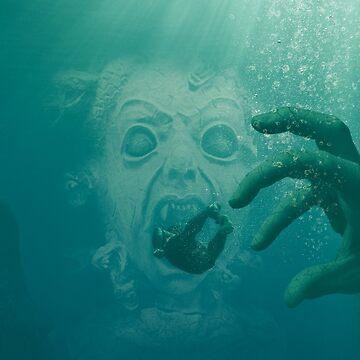 The Terror Below by BigRedCurlyGuy