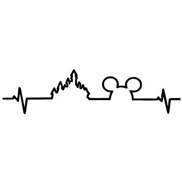 Chart Heartbeat Mickey Castle by doloresw