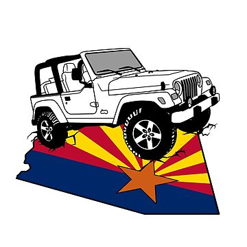 Arizona Jeep - Tucson by CoffeeStain