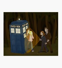 Doctor Who X Files Print Photographic Print