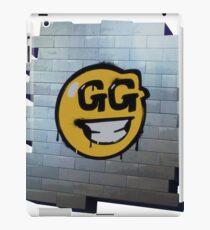 Fortnite gg smiley graffiti iPad Case/Skin