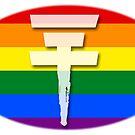 Tokio Hotel logo Pride flag by Zarlina