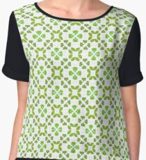 All Irish, Green Is for Luck Chiffon Top
