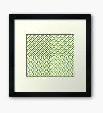 All Irish, Green Is for Luck Framed Print