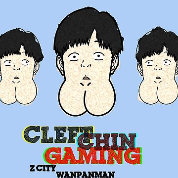 One Punch Man - Z City - Cleft Chin Kid Gaming by MountainFold