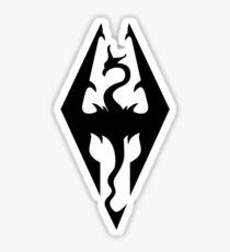 Skyrim - Logo artwork Sticker