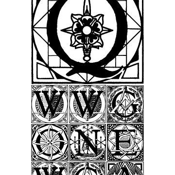 Q - WWG1WGA freemason  by FrontierMM