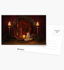 Pagan Altar Scene Postcards
