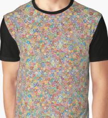 Dense Field of Flowers for Springtime Graphic T-Shirt