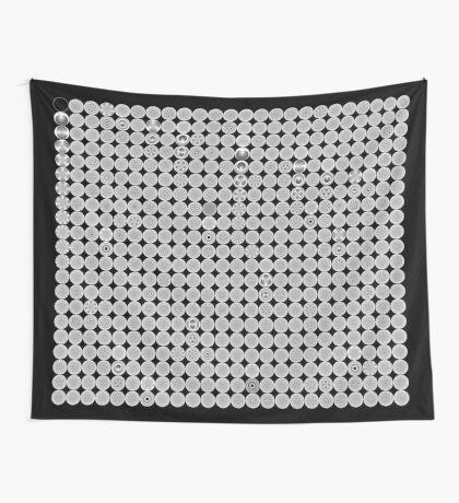 Modulo Cardiod grid Wall Tapestry