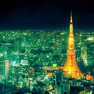 Tokyo Tower by Guillaume Marcotte