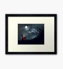 The Better To Eat You With Framed Print
