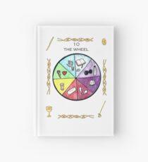 Tarot - Major Arcana - The Wheel of Fortune Hardcover Journal