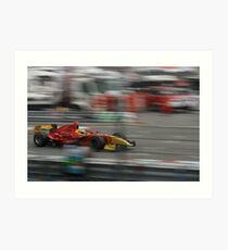 Formula Renault 3.5 series Art Print