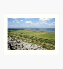 Beautiful Burren view Art Print