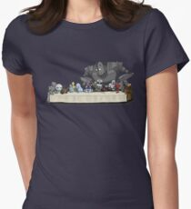 Robots Don't Need to Eat Women's Fitted T-Shirt