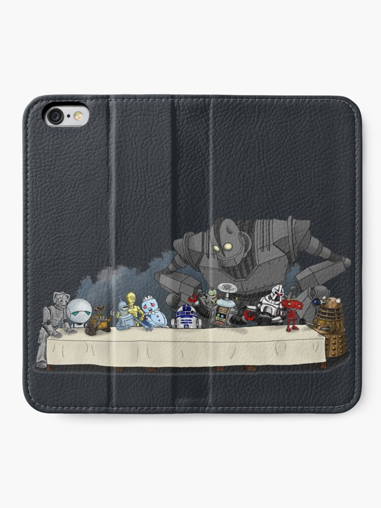 Alternate view of Robots Don't Need to Eat iPhone Wallet