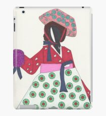 Korean Woman iPad Case/Skin