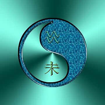Aquarius & Goat Yin Water by astrodesigner75