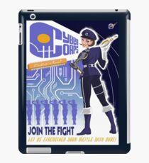 Cyber Corps iPad Case/Skin