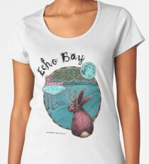Echo Bay Cover Art Premium Scoop T-Shirt