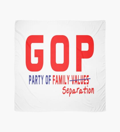 GOP Party of Family Separation Scarf